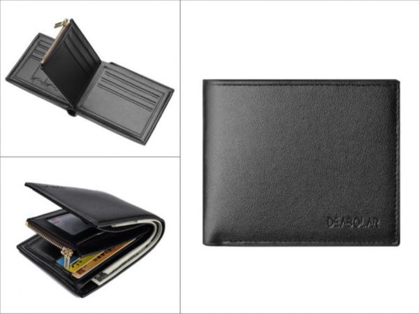 best mens zipper wallet